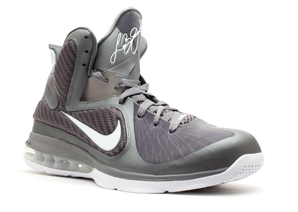 reputable site cd509 6100f Nike - Men - Lebron 9  Cool Grey  - 469764-007 - Size 9.5