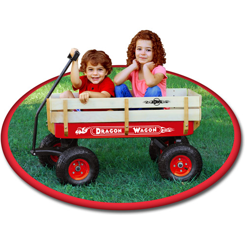 Beverly Hills Teddy Bear Company 8142 RED DRAGON WAGON