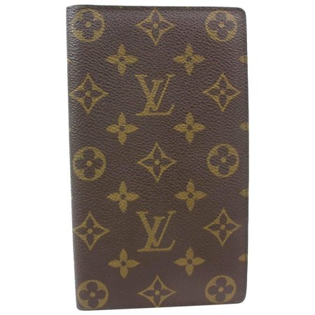 Louis Vuitton Monogram Bifold Flap Long Wallet Cartes 871098