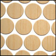 - Hardrock Maple Fastcaps (Sheet of 53 caps)