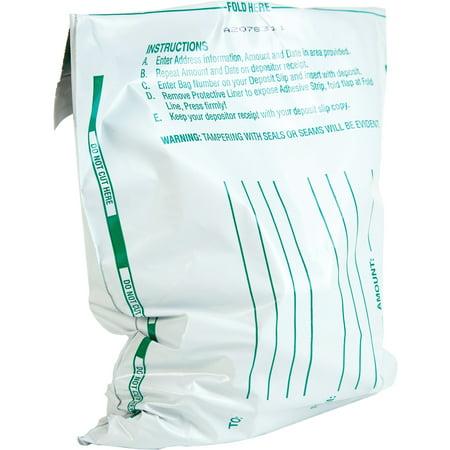 Quality Park, QUA45224, Night Deposit Bags, 100 / Pack, (Laser Deposit)