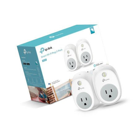 Kasa Smart Wi-Fi Plug by TP-Link (2-Pack) - Control your Devices from  Anywher