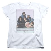 The Breakfast Club Teen Comedy Movie John Hughes Bc Poster Women's T-Shirt Tee