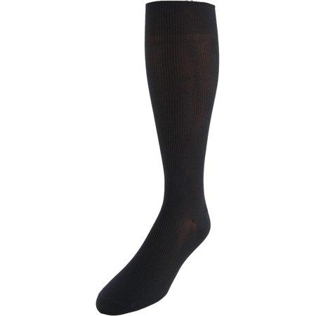 Men's Ribbed Dress Over the Calf Socks (Ribbed Dress Socks)