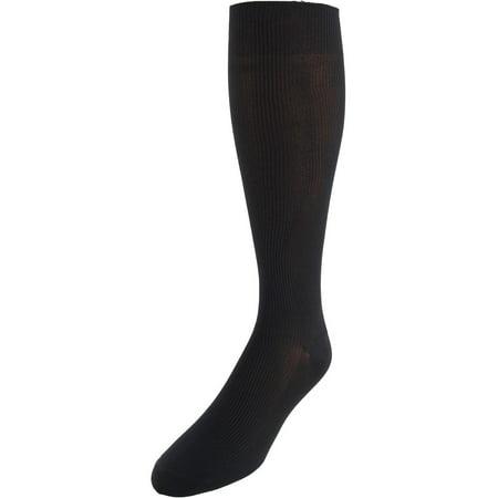 Jefferies Socks  Ribbed Dress Over the Calf Socks (Men's) Over The Calf Socks