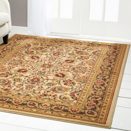 Home Dynamix Royalty Traditional Border Ivory Area (Ivory Traditional Rug)