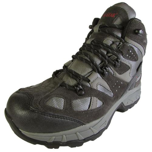 Guide Gear Mens G.G. Teck Waterproof Mid Hiker Lace Up Boot Shoe, Gray, US 11.5