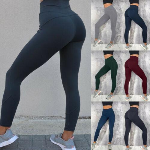 Fashion Womens leggings pants high waist womens running shark Yoga Sport scrunch