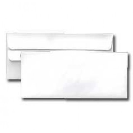 #10 Regular White Business Envelopes - Simple Seal Flap - Self Seal - Superfine Inc. Brand - (Pack of (Flap Seal Envelopes)