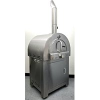 Pizza Oven Outdoor Artisan Gas Fired Pizza Stone Bake - Commercial Stainless Steel - LPG Propane - Cooking Accessories - Canvas Cover - Model SYMG01