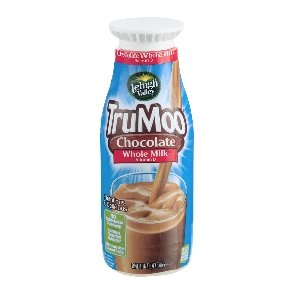 Lehigh Valley TruMoo Chocolate Whole Milk, 1.0 PT