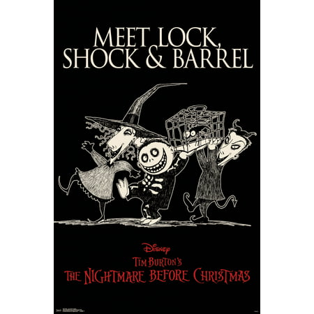 NBC - Lock, Shock and Barrel Poster and Poster Clip - Lock Shock And Barrel Masks