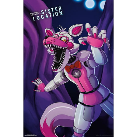 Trends International Five Nights At Freddy's Sister Location Funtime Foxy Wall Poster 22.375