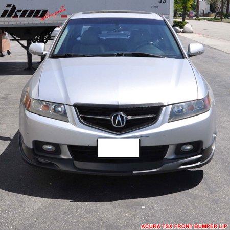 Fits Acura TSX Mugen Urethane Front Bumper Lip Spoiler Bodykit - Acura tl front lip