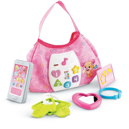 Fisher Price Laugh   Learn Sis Smart Stages Purse