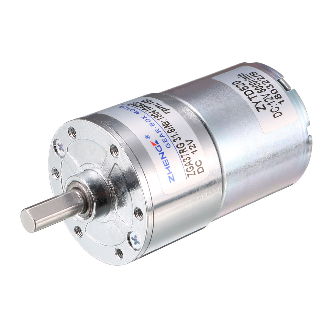 DC 12V 150RPM Output High Torque Electric Magnetic Geared Box Speeduce Motor