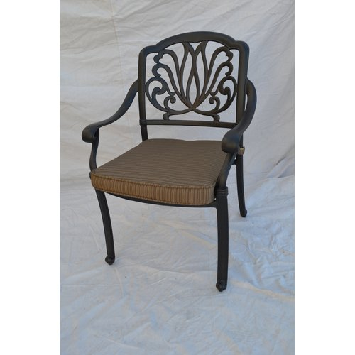 Darby Home Co Kristy Patio Dining Chair with Cushion