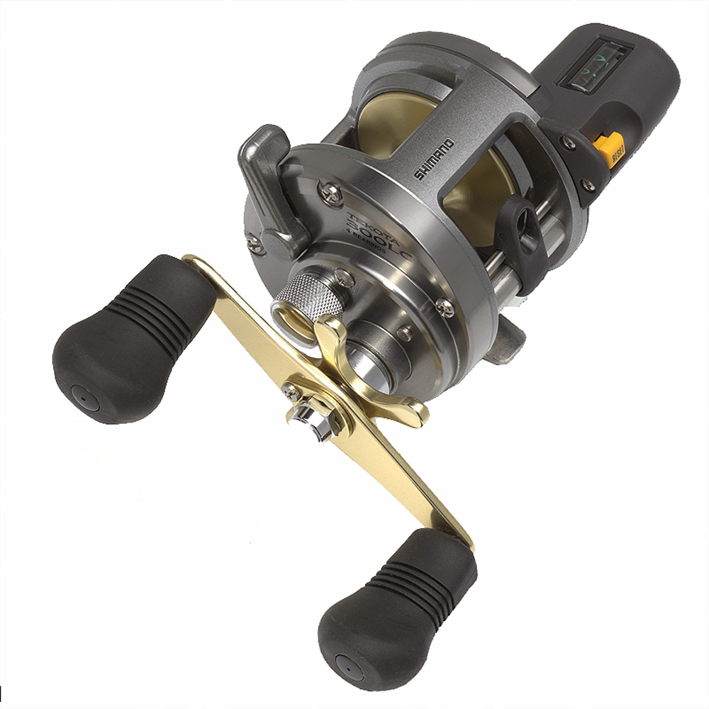 Shimano Tekota Reel 300 Line Counter 4.2:1 14lb/220Yds