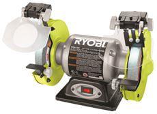 Ryobi 2.1-Amp Grinder With Led Lights, 6 In. by Ryobi