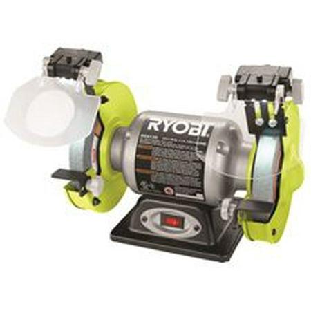 Ryobi 2.1-Amp Grinder With Led Lights, 6