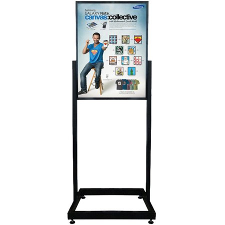 Signworld Heavy Duty Floor Standing Poster Display Stand Sign Holder 22