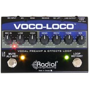 Radial Voco-Loco Effects Switcher for Voice or Instrument