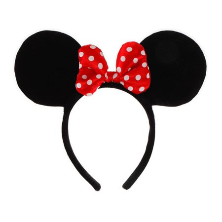 Minnie Mouse Ears Headband Halloween Accessory - Adult Mouse Ears