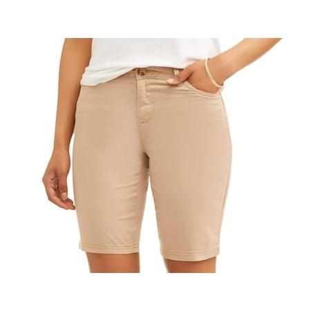 2f77cff503551b e Women's Casual Bermuda Shorts