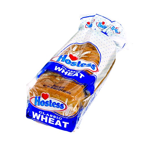 Hostess Wheat Bread, 20oz (Pack of 1)