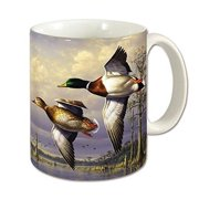 Counter Art CART60318 Water Birds Mug, 11 oz