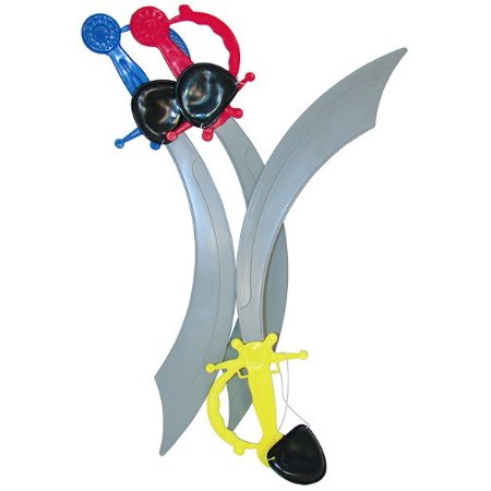 Fun Express Pirate Sword with Eye Patch Costume (1 Dozen)