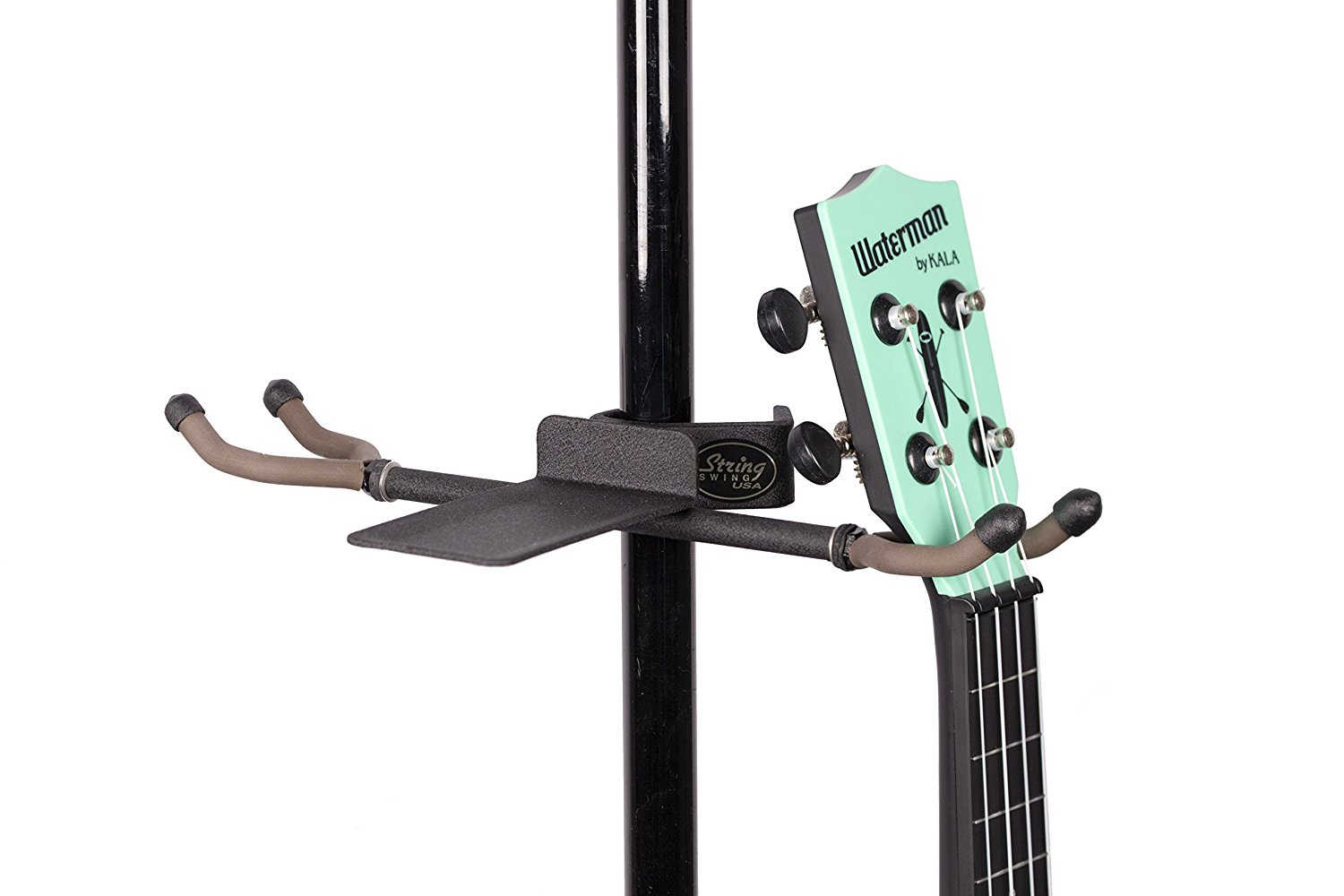 String Swing Twin Hanger for Mic Music Stand Twin Ukulele Mandolin by