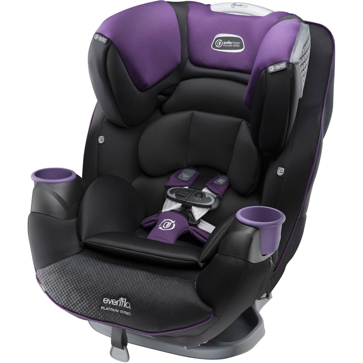 Evenflo Platinum SafeMax All-In-One Convertible Car Seat, Choose your color