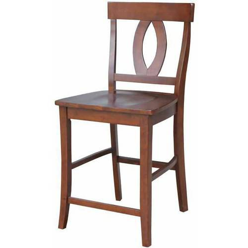 """Verona Counter-Height Stool, 24"""", Multiple Finishes"""