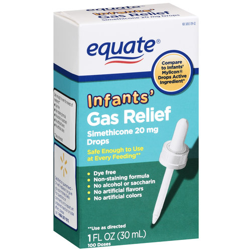 Equate Simethicone Infants' Gas Relief 20mg Drops, 1 oz