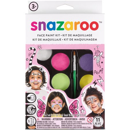 Snazaroo Face Painting Kit-Girls - Womens Halloween Face Painting Designs