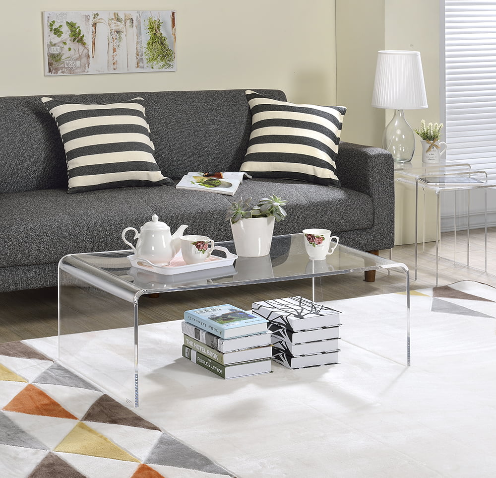 - Acrylic Coffee Table - Walmart.com - Walmart.com