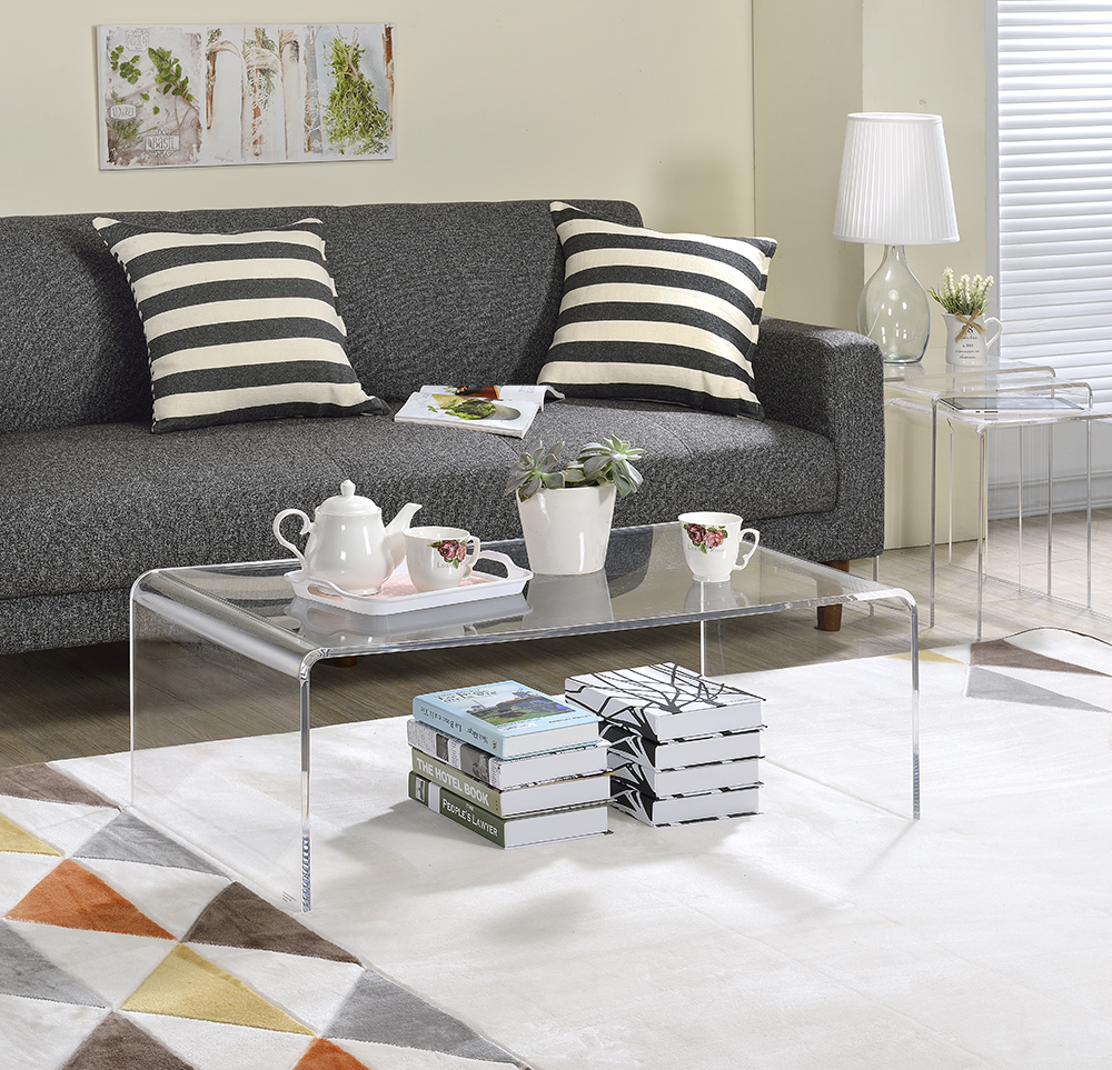Acrylic Coffee Table - Walmart.com