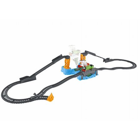 Thomas and Friends Harold's High Flying Rescue Set Track Master Train