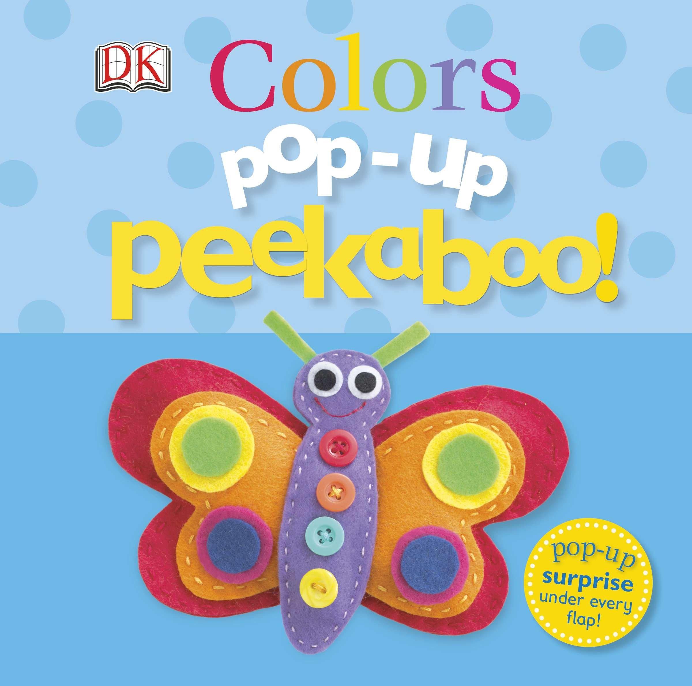 Pop Up Peekaboo Colors (Board Book)