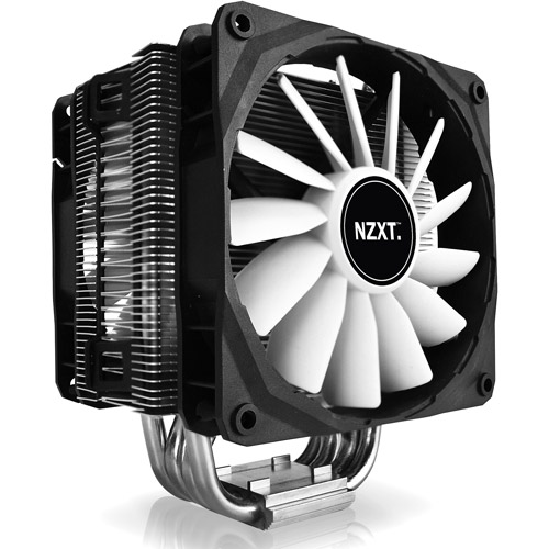 NZXT Havik 120 CPU Cooler with Four 8mm Heat Pipes and 120mm Fan