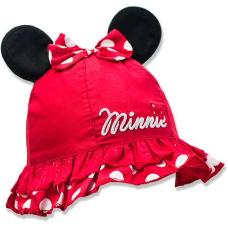 Minnie Mouse - Baby Toddler Girls  License Hat - Walmart.com 1545cb29e0e