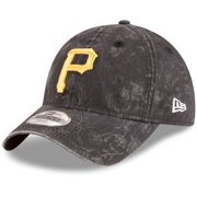 Pittsburgh Pirates New Era Girls Youth Floral Peek 9TWENTY Adjustable Hat - Black - OSFA