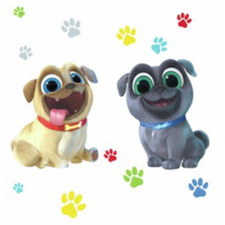 PUPPY DOG PALS 13 Giant Wall Decals Paw prints Stickers Decor](Giant Wall Stickers)