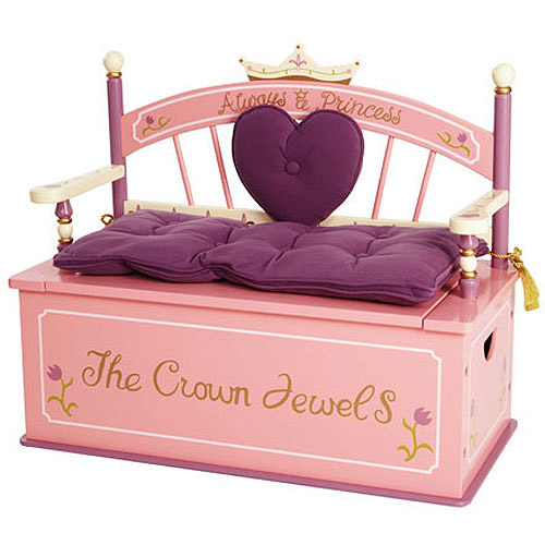 Levels of Discovery Princess Bench Seat with Storage