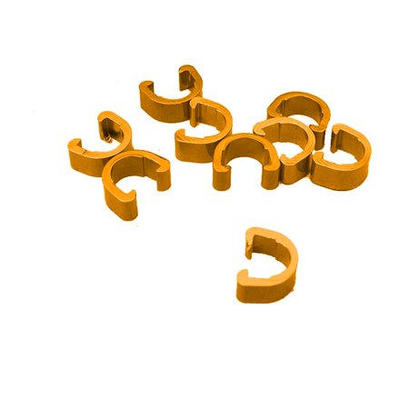 10pcs Bike Bicycle Cycle MTB C-Clips Brake Cable Buckle -