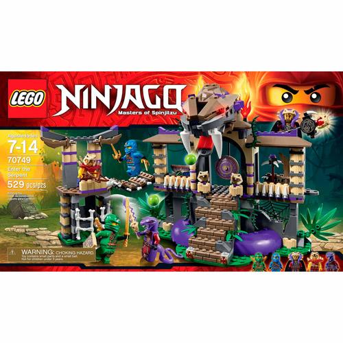 LEGO Ninjago Enter the Serpent