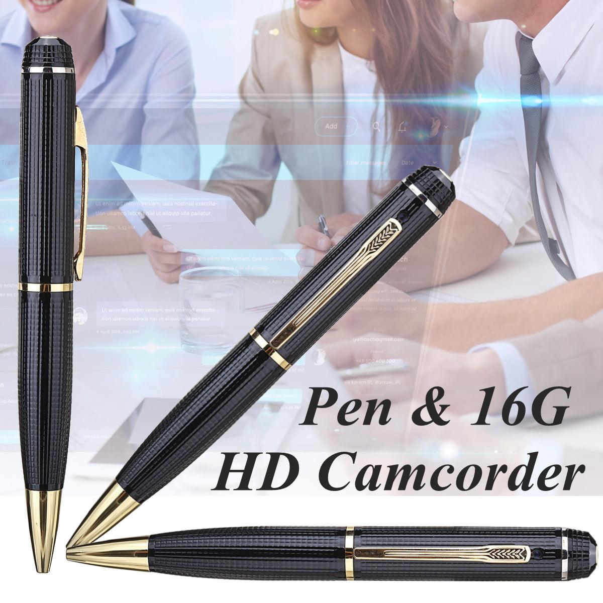 Full HD1080P 16GB REC Pen USB Camera 5 Mega Pixels Nanny Video/Voice Hidden Recorder Camera Record Sound 16GB TF card Support Max 32G