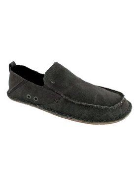 Crevo Men's Rasta Casual Slip On Moccasin