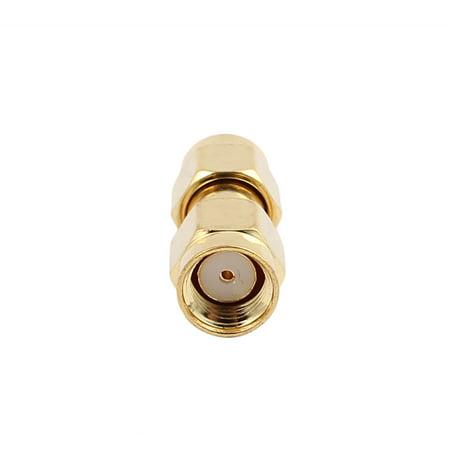 connecteur Adaptateur 21.5mm x 9mm SMA Femelle à male Cable Coaxial Jack Couple - image 1 de 2
